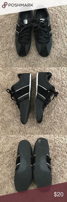 Shoes Black sneakers, worn once Calvin Klein Jeans Shoes Athletic Shoes