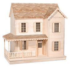 The House That Jack Built: Robinette - Wooden Doll House