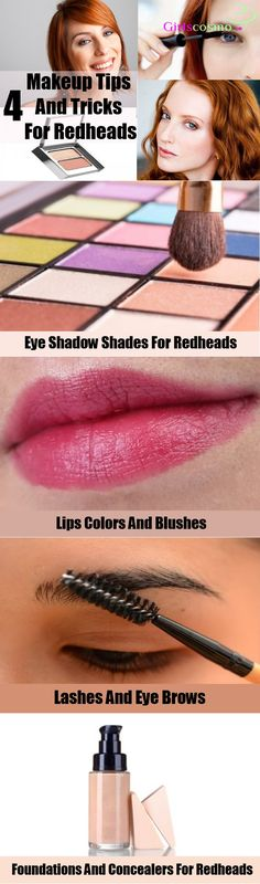 4 Makeup Tips And Tricks For Redheads