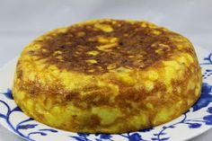Tortilla con patatas horneadas olla GM Ana Sevilla Mini Tortillas, Muffin, Breakfast, Gm Olla, Rica Rica, Food, Instant Pot, Model, Zucchini Spaghetti