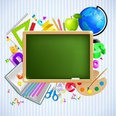 articles d ecole School Frame, Art School, Back To School, School Murals, Borders For Paper, Borders And Frames, School Border, Powerpoint Background Design, School Clipart