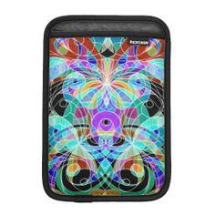 iPad Mini Sleeve Ethnic Style #Zazzle #iPad #Mini #Sleeve #Ethnic #Style #drawing #colorful