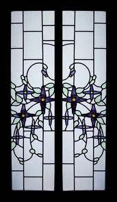 nouveau window door