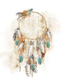 Dream Catcher Painting, Dream Catcher Art, Dream Catcher Watercolor, Dreamcatcher Wallpaper, Watercolor Dreamcatcher, Dream Catcher Tattoo Design, Boho Diy, Aboriginal Art, Chalk Art