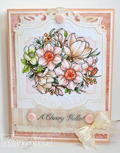 Spring Blossoms  Christine Creations  Flourishes