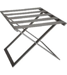 Pair Of Folding Vintage Red Painted Faux Bamboo Luggage Stands Racks Big Clearance Sale Other