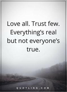 Fresh Trust Life Lesson Quotes About Relationships