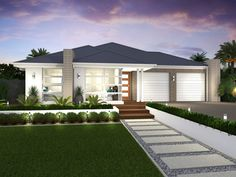 Duo - Dual Living - Facades | McDonald Jones Homes. House FacadesModern  Front YardFront ...