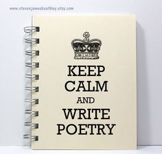 so many of these keep calm images floating around but this one might just be on my Christmas list :: Poetry Journal by stevenjameskeathley