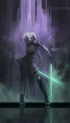 Jedi?, Shane Walters on ArtStation at https://www.artstation.com/artwork/jedi-3446dd3e-0ea7-4ec6-8e00-96dec392f661