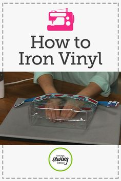 How to Iron Vinyl