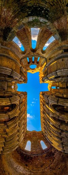 ◘ The Cross - San Galgano Abbey, Tuscany~