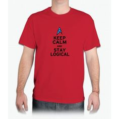 Keep Calm And Stay Logical - Mens T-Shirt