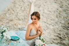 Beige and emerald Wedding Colours for a beach themed wedding + beige wedding dress Beige Wedding Dress, Wedding Dresses, Emerald Wedding Colors, Beach Dresses, Beach Themes, Colours, Outdoor, Beautiful, Bridal Dresses
