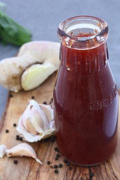 Food Fashion Party: SPICY PLUM BARBECUE SAUCE and Grilled Tofu - How I went from making sweet jam to spicy barbecue sauce
