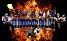 Hairball will be rockin' the Fair on Wed 7/13/16!