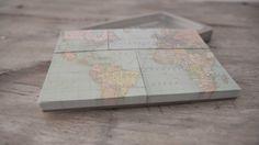 "Image of Notas adhesivas ""Map"""