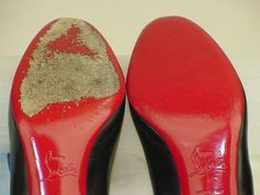 Red Touch Up Odorless Paint Kit for Christian Louboutin Shoes #3