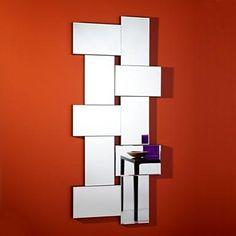 Twice Frameless Diamond Shaped Curved Purple Bevelled Wall Mirror By Deknudt Mirrors, Art Deco Mirror - - Mirror Shop UK Online Vintage Mirrors, Frameless Mirror, Beveled Mirror, Mirror Mirror, Mirror Ideas, Contemporary Wall Mirrors, Modern Contemporary, Mirror Shop, Modern Design