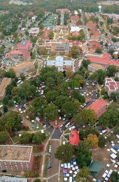 UNiversity of Mississippi campus.  Hotty Toddy!