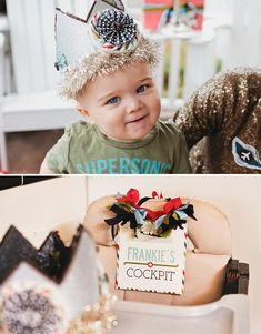 I am totally making a birthday hat like this for Scarlett's 2nd birthday party!