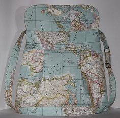 Another Map purse... :)