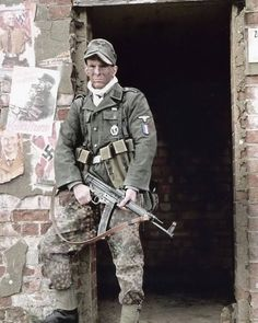 "1,002 Likes, 5 Comments - Third Reich (@germany__ww2) on Instagram: ""Go follow @wehrmachtwaffensshistory  Here is a French reenactor of the 33rd Waffen-SS Grenadier…"""