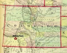 Map — Silverton, CO