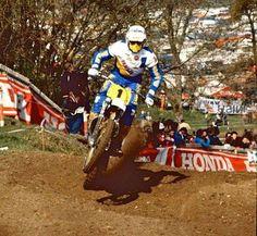 Hakan Carlqvist - Yamaha 500cc motocross
