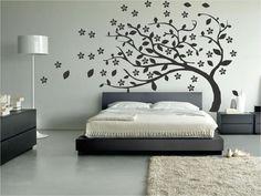 Cómo decorar la pared con vinilos