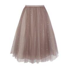 Buy Coast Cordelia Skirt, Oyster Online at johnlewis.com