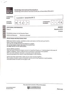 mathematics june exampler paper2 2014 grade12
