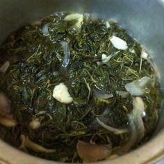 Saluyot leaves pinakbet (native ilocano food)