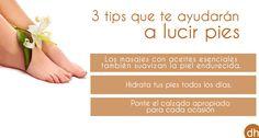 ¿Qué no hay pies bonitos? ¡¡MENTIRA!! Sigue este #ConsejoDH y demuestra que eres la excepción que confirma la regla :)