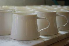cream mugs