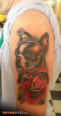 Puppy (nibbler) portrait by Nick Sarich