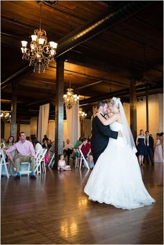 This photo showcases the venue and the bride and groom's first dance.(http://www.7centerpieces.com/parisian-themed-waco-wedding-shelly-taylor/)   Shelly Taylor Wedding Photography (http://www.shellytaylorphotography.net/)