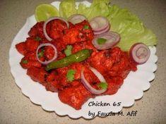 Chicken 65   Fauzia's Kitchen Fun