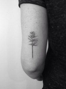 Tree on back arm by Lara M.J.