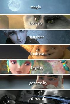 Alternative centers for Rise of the Guardians! If Elsa was in this, her alternative center would be Love.