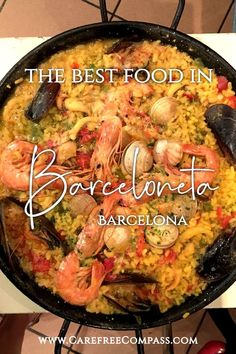 Don't know where to eat in Barcelona? Head to Barceloneta, the seaside district home to some of the best restaurants in the city. You'll find amazing tapas, paella, sangria, and much more! The restaurants in Barceloneta, Barcelona are top notch. Click to find out which ones made the list! | Barcelona restaurant | eat in Barcelona | restaurants in Barca | #barceloneta #barcelonaeats