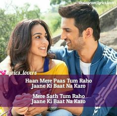 Jaane ki bat na karo R Romantic Song Lyrics, Beautiful Lyrics, Cool Lyrics, Love Songs Lyrics, Music Lyrics, Love Song Quotes, Song Lyric Quotes, Qoutes About Love, Romantic Love Quotes