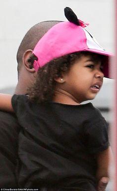 Keeping Up With Kimye — Kanye & North arriving at a birthday party at...