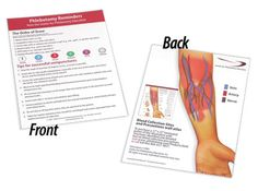 venipuncture order of draw | Phlebotomy Tips Card - Package of 12 - Center for Phlebotomy Education