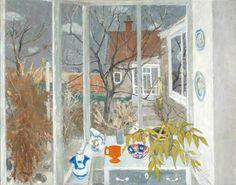 William George Gillies (1898-1973), The Garden in Winter