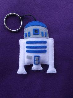 chaveiro R2-D2 - Star Wars - encomendas pela minha página no facebook - https://www.facebook.com/Boutiquegeekbg/