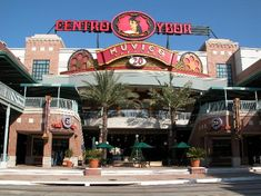 Ybor City-  Description: Once the cigar capital of the world, Ybor City is now a thriving community