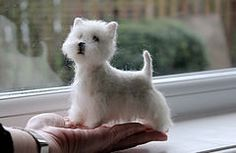 needle felted west highland white terrier | Flickr - Photo Sharing!