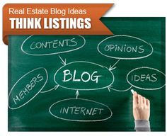 Real Estate Blogs - Great real estate blog ideas for promoting listings.
