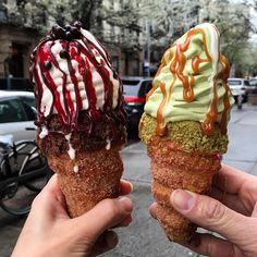 5 Crazy Food Trends You're About to See All Over Instagram - ConeChurro from InStyle.com